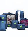 Organizador de Mala Portatil Organizadores para Viagem para Portatil Organizadores para ViagemVermelho Verde Azul