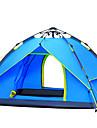 3-4 Pessoas Tenda Duplo Barraca de acampamento Um Quarto Tenda Automatica A Prova de Vento Resistente Raios Ultravioleta A Prova-de-Chuva