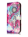 For Samsung Galaxy J5(2017) J3(2017) PU Leather Material Butterfly Chimes Pattern Painted Phone Case J7(2016) J7 J5(2016) J5 J3(2016) J3