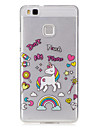 For Huawei P9 Lite P8 Lite Case Cover Unicorn Pattern Painted High Penetration TPU Material IMD Process Soft Case Phone Case Y5 II Y6 II