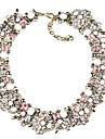 Femme Colliers/Sautoir Bijoux Bijoux Gemme Alliage Mode euroamericains bijoux de fantaisie Bijoux Pour Soiree