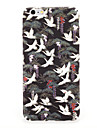 For Apple iPhone 7 7Plus Case Cover Pattern Back Cover Case crane bird Animal Hard PC 6s plus 6 plus 6s 6
