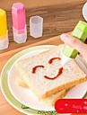 장식 도구 케이크에 대한 샌드위치 초콜릿에 대한 빵 사탕을위한 발아 플라스틱 DIY 친환경적인