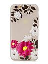 용 크리스탈 야광 패턴 케이스 뒷면 커버 케이스 꽃장식 소프트 TPU 용 Apple 아이폰 7 플러스 아이폰 (7) iPhone 6s Plus iPhone 6 Plus iPhone 6s 아이폰 6 iPhone SE/5s iPhone 5