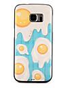Pour Etuis coque Motif Coque Arriere Coque Nourriture Flexible PUT pour Samsung S7 edge S7