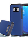 For Samsung Galaxy S8 Plus S8 Case Cover Shockproof Back Cover Solid Color Hard PC S7 Edge S7 S6 Edge S6
