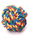 Cat Toy Dog Toy Pet Toys Ball Woven Textile