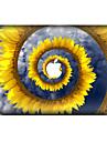 1 ед. Защита от царапин Цветочные/ботанический Прозрачный пластик Стикер для корпуса Узор ДляMacBook Pro 15\'\' with Retina MacBook Pro 15