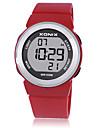 여성용 아동 스포츠 시계 스마트 시계 디지털 방수 야광 고무 밴드 화이트 블루 레드 퍼플