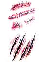 Tatuagens Adesivas Series Totem Estampado Lombar A Prova d\'aguaFeminino Masculino Adolescente Tatuagem Adesiva Tatuagens temporarias