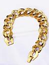 Femme Homme Chaines & Bracelets Mode Vintage Style Punk Pierre Gothique Cuivre Forme Ovale Forme Geometrique Bijoux PourSoiree Occasion