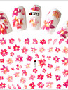 1pcs Hot Fashion Sweet Flower Nail Art 3D Stickers Beautiful Flower Design Decoration For Manicure DIY Beauty F091