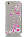 For Huawei P8 Lite (2017) P9 Lite Phone Case TPU Material Butterfly Flowers Pattern Relief Phone Case P8 Lite