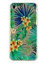Pour Etuis coque Motif Coque Arriere Coque Fleur Flexible PUT pour AppleiPhone 7 Plus iPhone 7 iPhone 6s Plus iPhone 6 Plus iPhone 6s