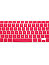 Silicone Capa para Teclado Para 13.3\'\' 15,4 \'\'MacBook Pro 15 Polegadas com Retina Display MacBook 12\'\' MacBook Air 11\'\' MacBook Air 13\'\'