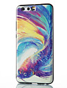 For Huawei Mate 8 Mate 9 Pro Case Cover Colorful Fish Pattern Relief TPU Material Phone Case P10 P9 P8 Lite 2017 6X NOVA V9
