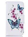 For Samsung Galaxy J3 J3 (2016) Case Cover Butterfly Pattern PU Material Card Stent Wallet Phone Case Galaxy J7 J5 J3