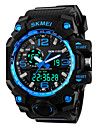 SKMEI 남성 스포츠 시계 디지털 시계 디지털 실리콘 밴드 블랙