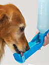 Gato Cachorro Tigelas e Bebedouros Animais de Estimacao Tigelas e alimentacao de animais Prova-de-Agua Portatil Vermelho Azul Rosa claro