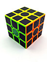 Rubik\'s Cube Smooth Speed Cube Scrub Sticker Magic Cube Plastics Carbon Fiber