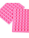 1 Pcs Mold Letter For Candy For Ice For Chocolate Silicone New Year\'s 3D Cake Mold 23.8x18x1.7cm(9.37x7.08x0.66INCH) Random Color