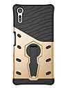 Para sony xperia x compacto xperia xz capa capa 360 graus rote armadura combo gota armadura telefone caso xperia e5