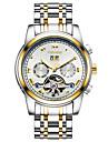 Муж. Спортивные часы Часы со скелетом Модные часы Механические часы С автоподзаводом Календарь Защита от влаги Светящийся Фосфоресцирующий