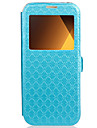 Case For Samsung Galaxy A3(2017) A5(2017) Case Cover Card Holder with Stand Flip Embossed Full Body Case Geometric Pattern Hard PU Leather