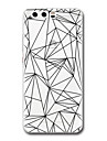 Для huawei p10 p9 чехол чехол прозрачный узор задняя крышка чехол геометрический рисунок мягкий tpu для huawei p10 plus p9 lite p9 plus p8