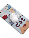 For Case Cover Pattern DIY Squishy Back Cover Case Cat Cartoon Soft TPU for Apple iPhone 7 Plus iPhone 7 iPhone 6 Plus iPhone 6s iPhone 6