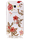 Case For Samsung Galaxy A5(2017) A3(2017) Phone Case TPU Material IMD Process Morning Glory Pattern HD Flash Powder Phone Case