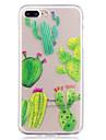 Caso para maca iphone 7 mais 7 caixa de telefone material tpu imd processo cactus padrao hd caso de telefone 6s mais 6 mais 6s 6