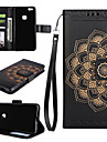 Case for Huawei P10 Plus P10 Lite Case Cover The Mandala Pattern PU Leather Cases for Huawei P8 Lite (2017) P9 Lite Mate 9 Y5 II Y6 II