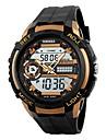 Men\'s Sport Watch Digital Watch Digital PU Band Black
