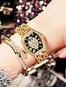 Femme Montre Tendance Montre Bracelet Bracelet de Montre Unique Creative Montre Montre Decontractee Montre Diamant Simulation Chinois