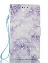 Para sony xperia xa xperia e5 capa capa azul padrao 3d pintado cartao stent carteira telefone caso