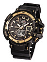 Men\'s Fashion Watch Digital Water Resistant / Water Proof Rubber Band Black