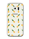 For Samsung Galaxy S8 Plus S8 Case Cover Transparent Pattern Back Cover Case Fruit Soft TPU for Samsung Galaxy S7 edge S7 S6 edge Plus S6 edge S6 S5