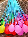 37 pcs / conjunto unico balao cheio de injecao de agua de irrigacao em brinquedos de praia de ferias para criancas baloes de agua cor