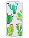 Чехол для sony xperia m2 xa корпус обложка кактус узор окрашенный высокий проникающий тп материал imd процесс мягкий чехол телефон чехол