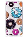 케이스 huawei p10 lite p10 케이스 커버 도넛 패턴 tpu 소재 imd 공예 huawei p8 라이트 (2017)