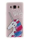 Case for Samsung Galaxy J7 2017 J5 2017 Cover Translucent Pattern Back Cover Case Unicorn Soft TPU for J3 2017 J7 Prime J510 J310 J120 J5 Prime