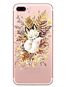For iPhone X iPhone 8 Case Cover Transparent Pattern Back Cover Case Cat Soft TPU for Apple iPhone X iPhone 8 Plus iPhone 8 iPhone 7 Plus