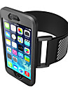 Case For iPhone 7 Plus iPhone 7  Cover Armband Armband Case Solid Color Soft Silicone for Apple iPhone 6s Plus iPhone 6 Plus iPhone 6s