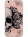 For iPhone 7 iPhone 7 Plus Case Cover Ultra-thin Pattern Back Cover Case Skull Soft TPU for Apple iPhone 7 Plus iPhone 7 iPhone 6s Plus