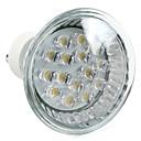 1W GU10 Faretti LED MR16 15 Capsula LED 75 lm Bianco caldo AC 220-240 V