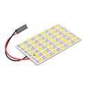 T10/BA9S/Festoon 8W 36x5730SMD Warm White Light LED für Auto-Leselampe (12V)
