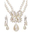 Schmuck-Halsketten / Ohrringe(Perle)Hochzeit Hochzeitsgeschenke