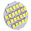 DAIWL G4 1.5W 24xSMD3528 90-110LM 6000-6500K Natural White Light LED Spot Bulb (12V)