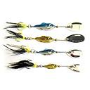 Fishing 3-Hooks with Fish-Shaped Shining Metal Lure(6g,11g,15g,20g)